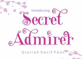 Secret Admirer Serif Font