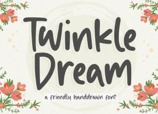 Twinkle Dream Handdrawn Font