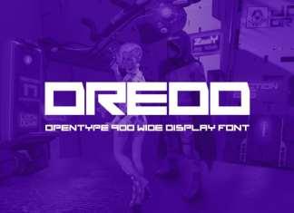 Dredd Display Font