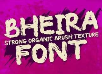 Bheira Brush Font