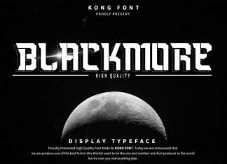 Blackmore Display Font