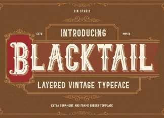 Blacktail Blackletter font