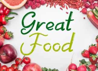 Great Food Script Font