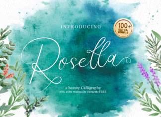 Rosetta Calligraphy Font
