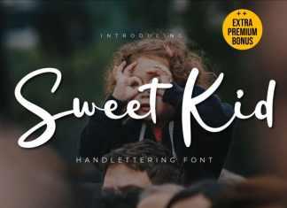Sweet Kid Script Font