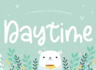 Daytime Fun Handdrawn Font