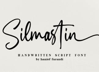 Silmastin Handwritten Font