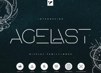 Agelast Display Font Family