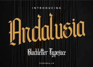 Andalusia Blackletter Font
