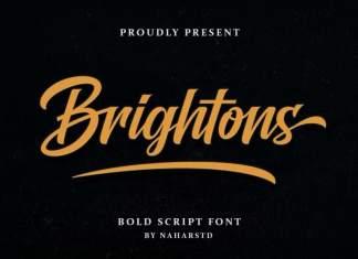 Brightons Script Font