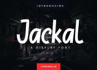 Jackal Display Font