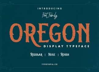 Oregon Display Font