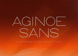 Aginoe Sans Serif Font
