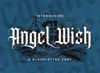 Angel Wish Blackletter Font