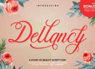Dellancy Script Font
