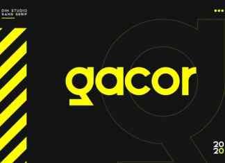 Gacor Sans Serif Font