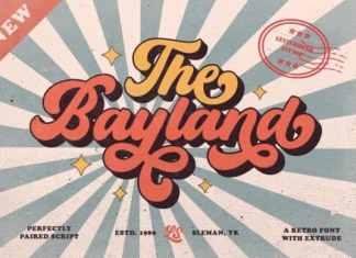 Bayland Script Font