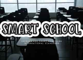 Smart School Display Font