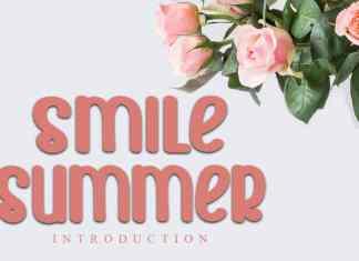 Smile Summer Script Font