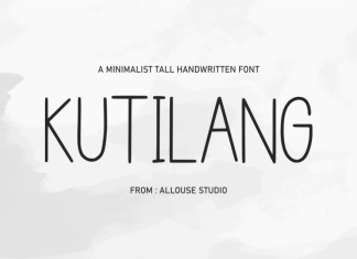 Kutilang Handwritten Font