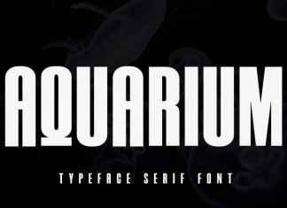 Aquarium Sans Serif Font
