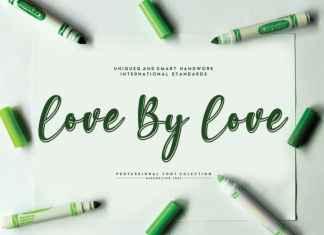 Love By Love Script Font