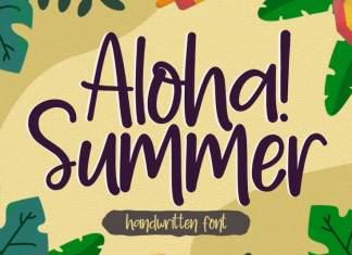 Aloha Summer Handwritten Font