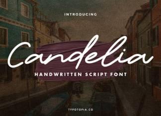 Candelia Handwritten Font