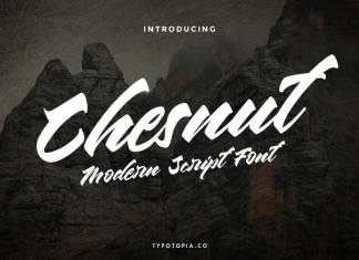 Chesnut Modern Script Font