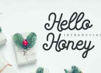 Hello Honey Handwritten Font