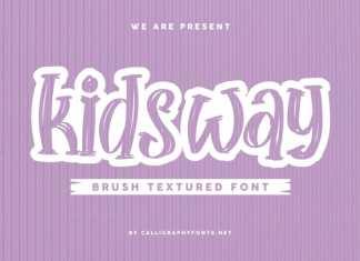 KidsWay Script Font