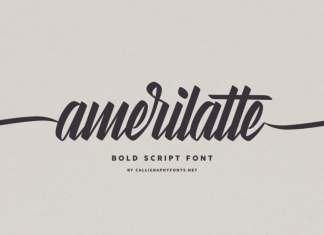 Amerilatte Brush Script Font