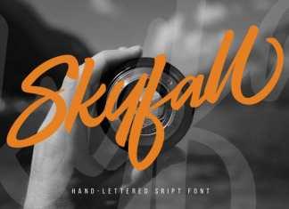 Skyfall Script Font