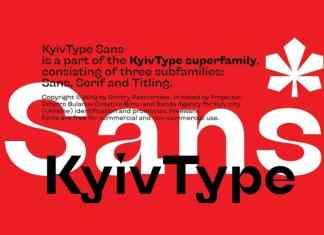 KyivType Sans Serif Font