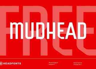 Mudhead Sans Serif Font