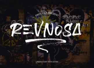 Revnosa Brush Font