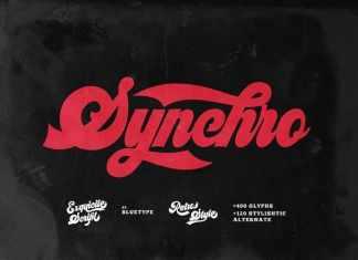 Synchro Script Font