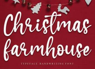 Christmas Farmhouse Script Font