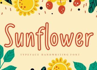 Sunflower Display Font