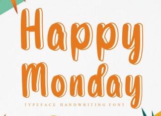 Happy Monday Display Font