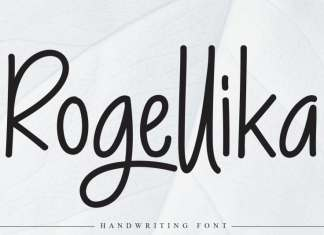 Rogellika Script Font
