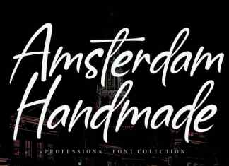 Amsterdam Handmade Script Font