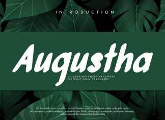 Augustha Display Font