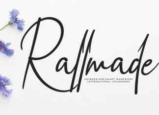 Rallmade Script Font