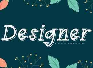 Designer Display Font