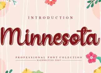 Minnesota Handwritten Font