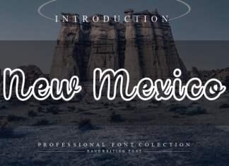 New Mexico Script Font