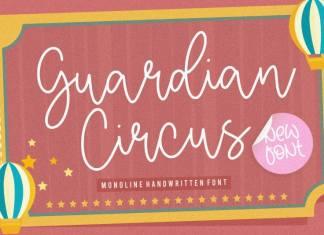 Guardian Circus Handwritten Font