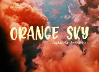 Orange Sky Display Font