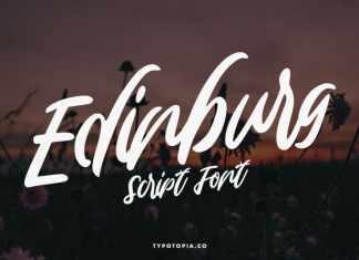 Edinburg Script Font